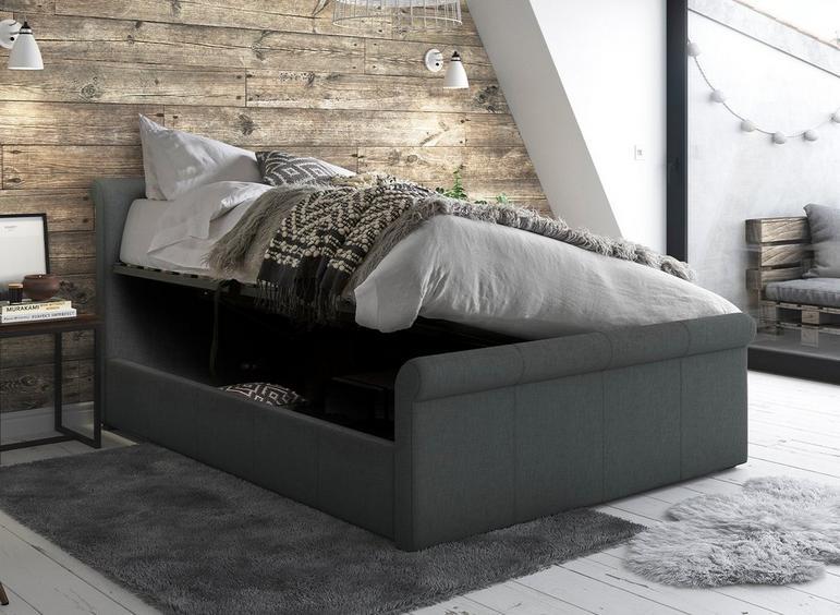 Wilson Upholstered Ottoman Bed Frame