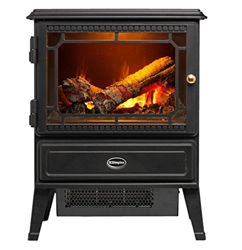 Dimplex GOSFORD Opti-myst Electric Fire, Steel, Black Fireplaces- Price Tracker