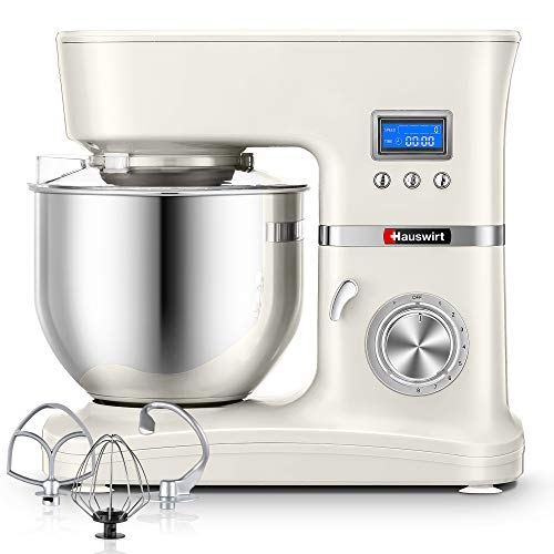 Hauswirt Stand Mixer, Food Mixer with 5L Stainless Steel Mixing Bowl- Price Tracker