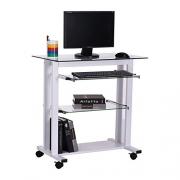 HOMCOM Computer Desk Table Workstation Home Office