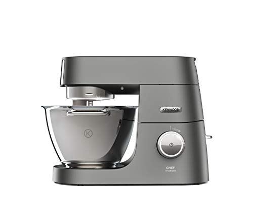 Kenwood Chef Titanium Stand Mixer for Baking – Powerful and Stylish Kitchen Machine- Price Tracker
