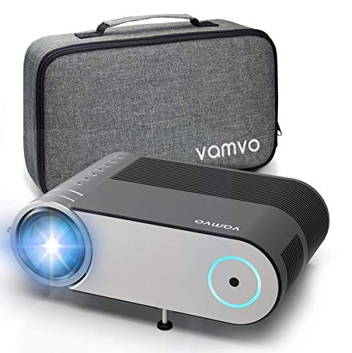 "Vamvo Mini Projector 4000 Lumens Native 1080*720p, Portable Video Projector L4200, Home Cinema Projector 200"" Display Supported- Price Tracker"
