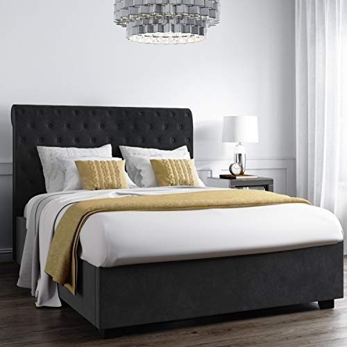 Safina Roll Top Double Ottoman Bed- Price Tracker