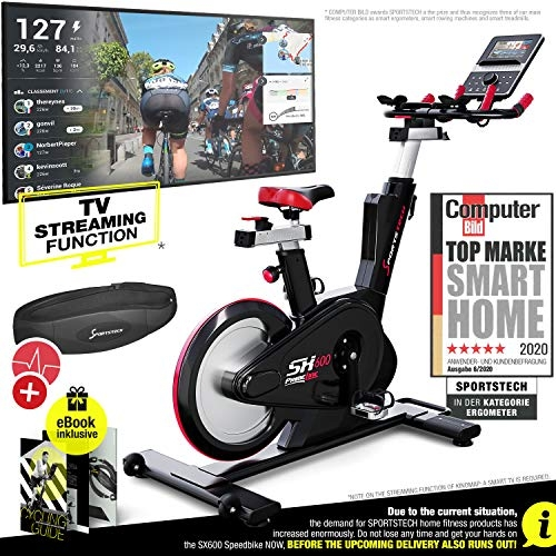 Sportstech Elite Indoor Cycling Exercise Spin Bike- Price Tracker