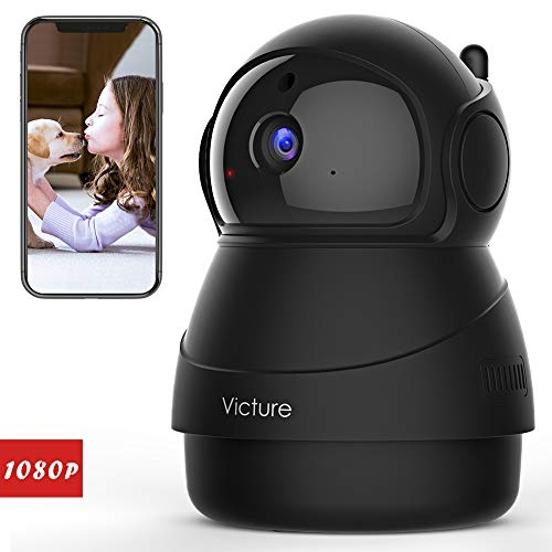 Victure 1080P FHD WiFi IP Cameras Baby Monitors with Night Vision Motion Detection 2-Way Audio White- Price Tracker